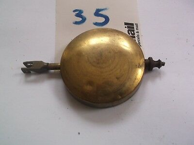 A PENDULUM FROM AN OLD  MANTEL CLOCK  112 g REF 35