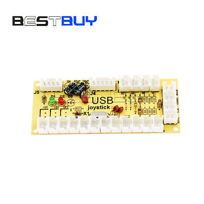 DIY USB Encoder No Delay push buttons PC To Joystick For MAME JAMMA BBC