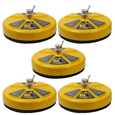 BE Pressure 85.403.014 14-Inch 4000 PSI Whirl-A-Way Surface Cleaner, 5-Pack