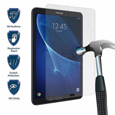 Genuine Premium Tempered Glass Screen Protector For Samsung Galaxy Tab A 10.1""