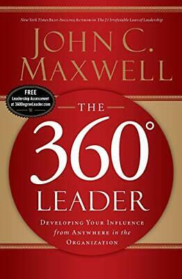 360 Degree Leader by Maxwell, John Paperback Book The Cheap Fast Free Post