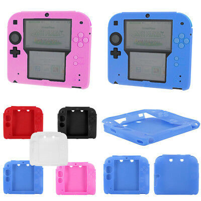 Protective Case For Nintendo 2DS Console Soft Silicone Bumper Gel Skin Cover New