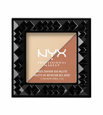 2 x NYX Cheek Contour Duo Palette - Choose Your Shade