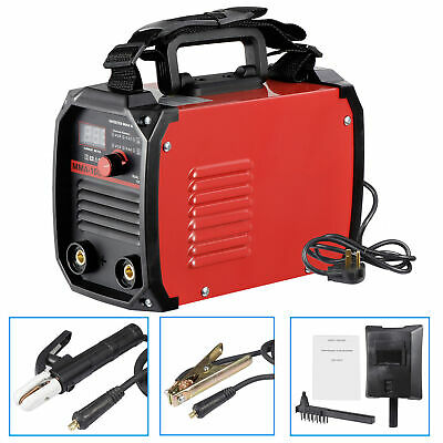Dual Voltage Welding Machine Handheld DC Inverter MMA Stick Welder Equipment IGB