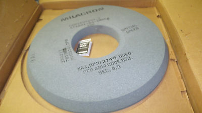 "Milacron surface grinding wheel 22 to 23"" 600X50X203.2  arbor 8""dia. 2"" wide NEW"