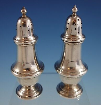 Old French by Gorham Sterling Silver Salt and Pepper Shaker Pair #1113 (#2654)