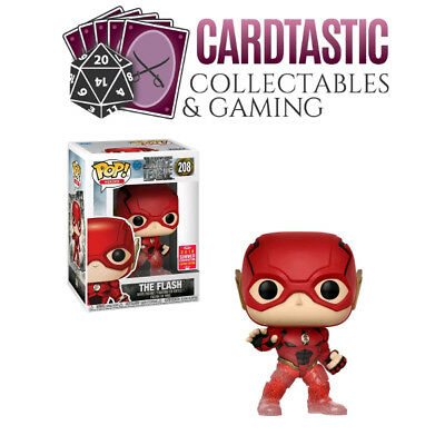 Justice League - The Flash Running Translucent Feet SDCC 2018 #208 POP! (RS)