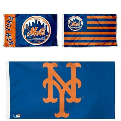 3008bd9c16e8a NEW YORK METS Flag 3 X5  Mlb Ny Mets Banner  Fast Free Shipping -  12.44