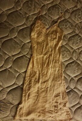1930-40's Bias Cut Nightgown Slip