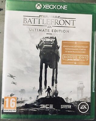 Battlefront ultimate Edition - Neuf Sous Blister - xbox one