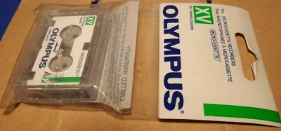 Microcassette head cleaner Olympus XV DRY CLEANING CASSETTE puliscitestine