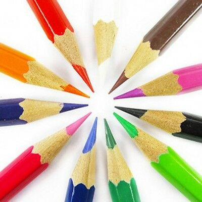 Kids' Children's Crafts Drawing Painting Crayons 12 Colors Colours Pencils Pens