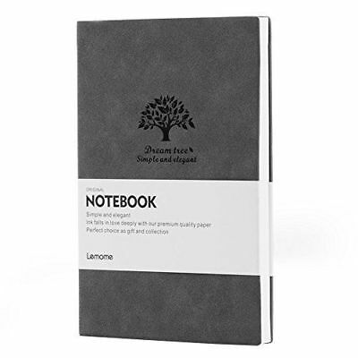 Grau Bullet Journal/Notizbuch Dotted - Lemome Softcover A5 Notebook – Dickes P