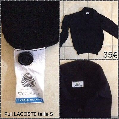 Pull 35 Homme Fr Eur LacosteTaille 00Picclick S PXkn0w8O