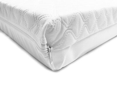 Cot Cotbed Mattress Quilted Foam Breathable Baby Toodler Child 140X70 120X60