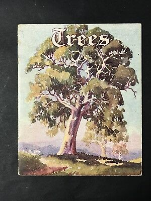 Lovely Miniature MOTTO BOOK SERIES Australian Gum TREES & Poetry, Greeting Card