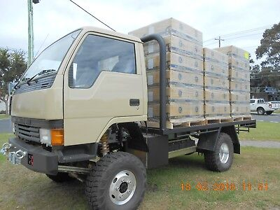 Mitsubishi Canter 4X4 1991 Model Fully Rebuilt As New Plus More!!