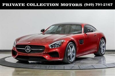 2017 Mercedes-Benz Other  2017 AMG GT Highly Optioned Designo Red Seat Belts