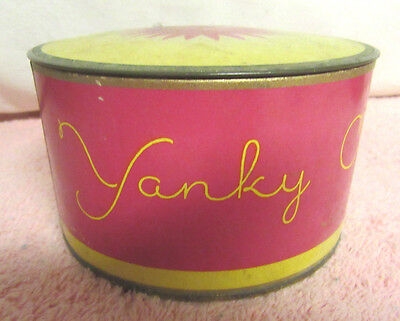 Vintage Empty Yanky Clover Dusting Powder Box - Richard Hudnut - New York/Paris