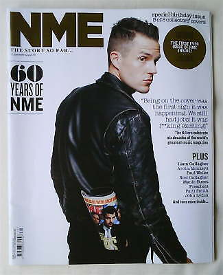 THE KILLERS/BRANDON FLOWERS RARE, NME Mag 29 Sept 2012 Collectors' Edition NEW