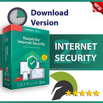 Kaspersky Internet Security 2019 / 2020 | 5 PC (Geräte) 1 Jahr | Download