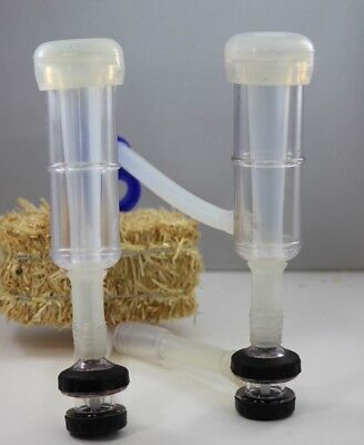 Milking Cluster for goat milker with silicone liners automatic valves by Melasty