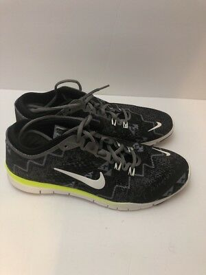los angeles 00fb5 75831 NIKE FREE 5.0 TR FIT 4 Women's Running Shoes 629832-008 Size 9.5 Training