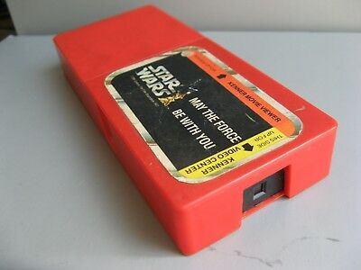 "Kenner Star Wars MOVIE VIEWER CARTRIDGE 1977 MTFBWY ""May the Force Be With You"""