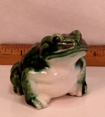Ceramic Handpainted Collectible Frog Toad
