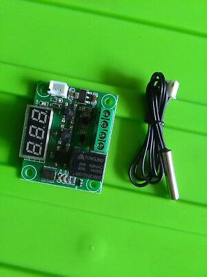 temperature controller LED display programable relay 12V 250V thermostat