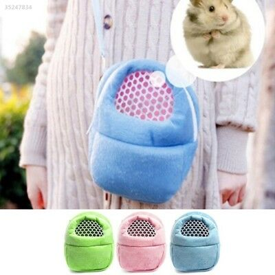 95F1 Pet Supplies Carrier Rat Pocket Hamster Shoulder Bag Cute Pet Travel Bag