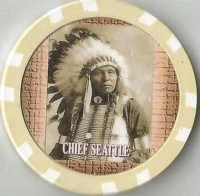 Chief Seattle  Collector  Chip Duwamish Chief