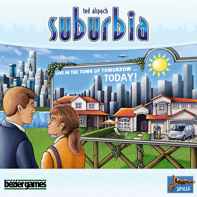 Suburbia - Bezier Games - New Board Game