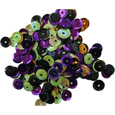 Clear Scraps Sequin Multi Pack 350 To 400 Pieces -Spooky