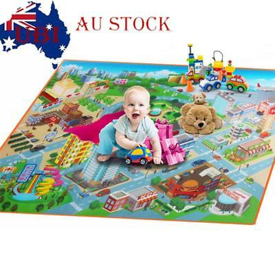 Baby Kids Play Crawl Mat ChiChild Activity Soft Toy Gym Creeping PE Blanket Rug