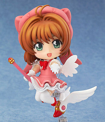 Cosplay Japan Anime Card Captor Sakura Kinomoto Sakura PVC Figure New in Box