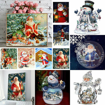 5D Christmas Diamond Embroidery Painting Cross Stitch DIY Home Decor Gifts Art