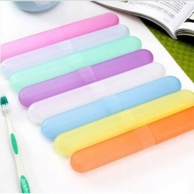 4X Toothbrush Protect Cover Travel Camping Hiking Portable Case Tube Holder Box