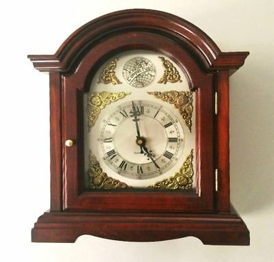 RETRO/VINTAGE/ANTIQUE STYLE CARRIAGE TABLE CLOCK QUARTZ TRADITIONAL BY Clarke