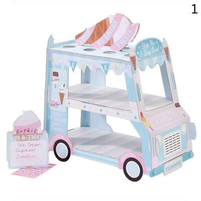 ICE CREAM cupcake van Cars Display Stand Birthday wedding party decorate