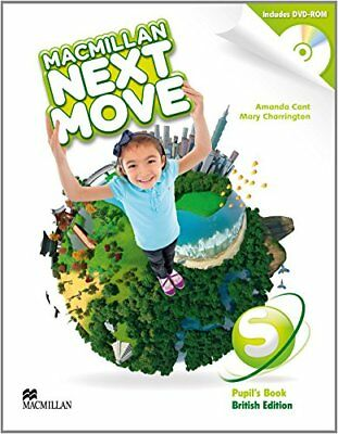 Macmillan Next Move Starter Level (Pupil's Book British Edition) with DVD Rom