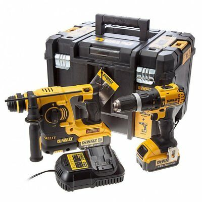 DeWalt DCK206M2 18v XR Twin Pack 4.0Ah Kit