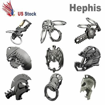 Hephis Keychain Key Ring With Bottle Opener Car Key Chain Multi Style Gift KEY--