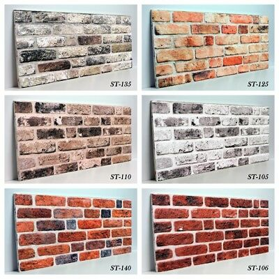 Wall panel Natural Brick 3D Decorative Wall Ceiling Tiles Cladding Polystyrene