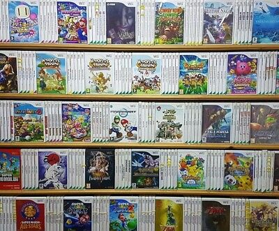 Nintendo WII TOP RATED TITLES GRADE A+ GEMS Pal UK - Make Your Selection