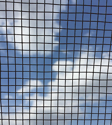 """Primeweld 1/4 X 1/4 Galvanised Wire Mesh 22G 36""""high 2M And 6M Lengths"""