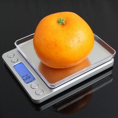 3000g X 0.1g 0.01g Digital Pocket Scale Jewelry Weight Electronic Balance Gram