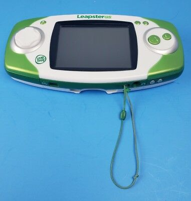 leapfrog leapster gs explorer handheld game system green 19 99 rh picclick com Leapster Leap LeapsterGS Explorer Pink