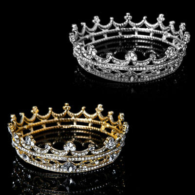 Qa_ Bridal Crown Wedding Prom Queen Tiara And Crown Hair Jewelry Accessories N