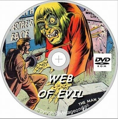 Web of Evil Issues 1-21 Full Run On Dvd rom